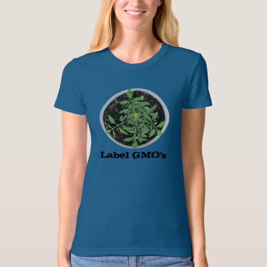 Label GMO's Peace Sign Organic Tee - USA