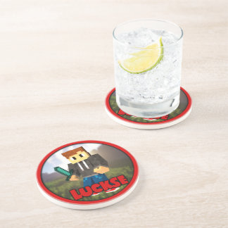 Label reductor beverage coasters