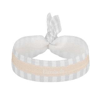 Label-Sash-Plain-VW-WhiteInner-9-13-Apricot-FBCEB1 Ribbon Hair Tie