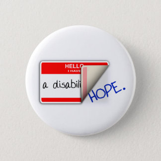 Labeled Disabled Button