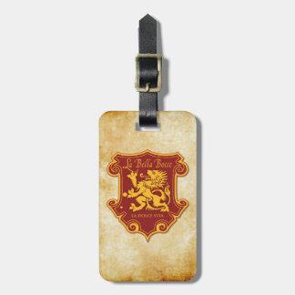 LaBella Luggage Tag w/ leather strap