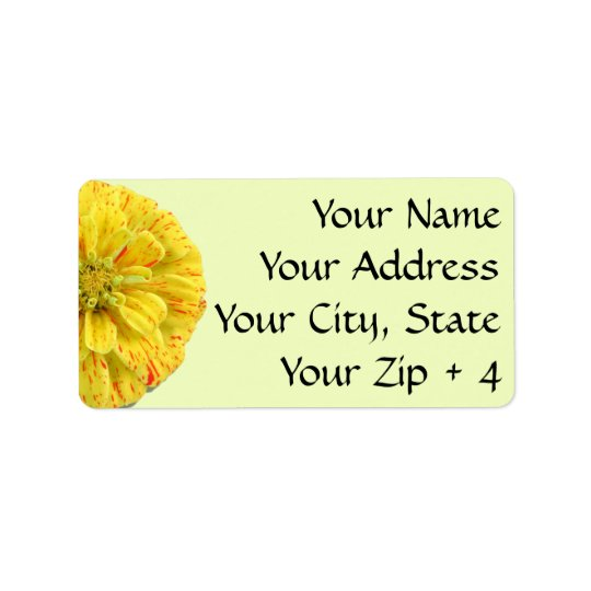 Labels/Gift Tags - Candy Stripe Zinnia