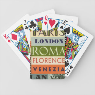 Labels trips poker deck