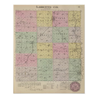 Labette County, Kansas Poster