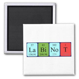 Labinot periodic table name magnet