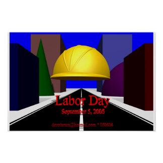 Labor Day (print) Poster
