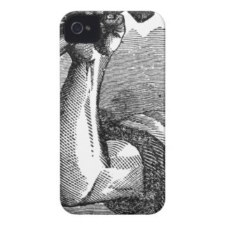 Labor Hand Holding Hammer iPhone 4 Case-Mate Case