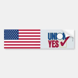 Labor Union Bumper Sticker