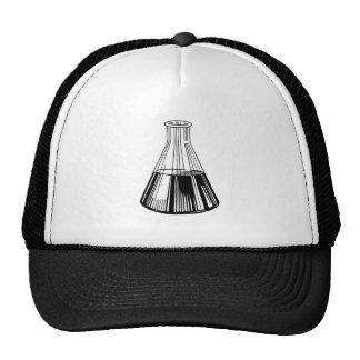 Laboratory flask, Chemistry beaker, science Trucker Hat