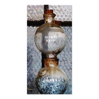 Laboratory Glassware Customized Photo Card