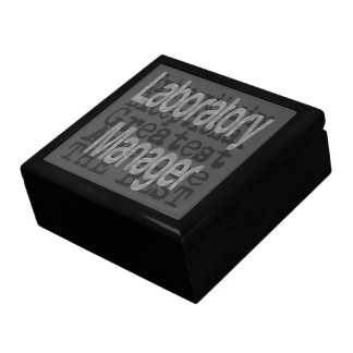 Laboratory Manager Extraordinaire Gift Box