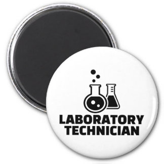 Laboratory technician 2 inch round magnet