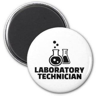 Laboratory technician magnet
