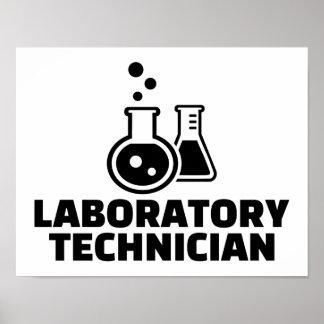 Laboratory technician poster