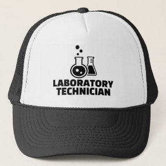 Laboratory technician trucker hat