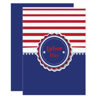 Labour Day card