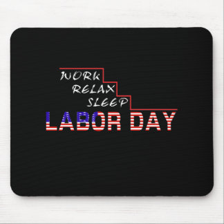 Labour Day Mouse Pad