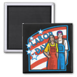 Labour Day Refrigerator Magnet