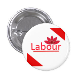 Labour Party Logo 1 Inch Round Button