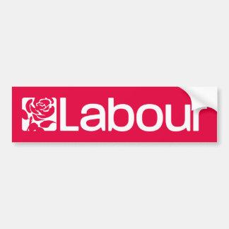 Labour Party UK Bumper Sticker