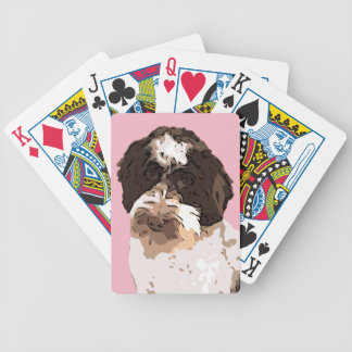 LABRADOODLE BICYCLE PLAYING CARDS