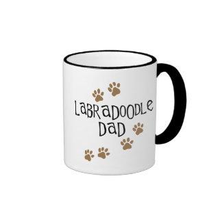 Labradoodle Dad Ringer Coffee Mug