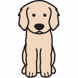Labradoodle Dog Cartoon Photo Sculptures