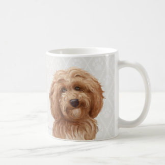 Labradoodle Dog Paintings / Labradoodle Love / Coffee Mug