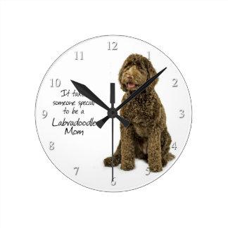 Labradoodle Mom Clock