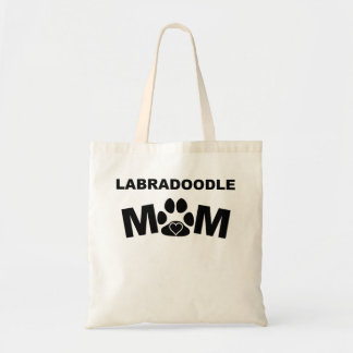 Labradoodle Mom Tote Bag