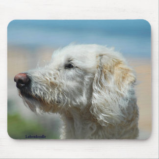 Labradoodle Mouse Pad