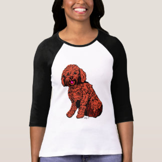 Labradoodle Women's Bella Raglan T-Shirt