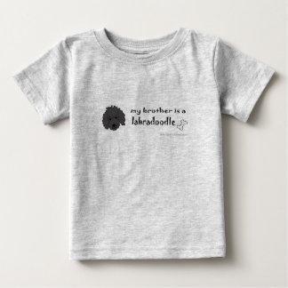 LabradoodleBlackBrother Baby T-Shirt