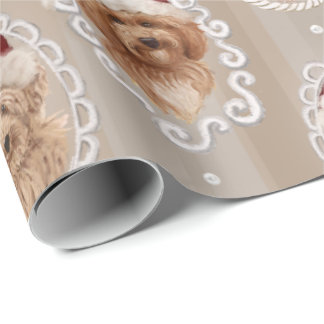 ©LabraDoodleFriends Dog Labradoodle wrapping Wrapping Paper