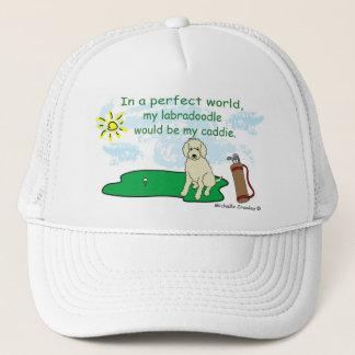 LabradoodleYellow Trucker Hat