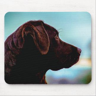 Labrador at Dusk Mouse Pad
