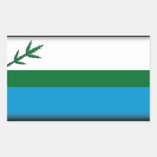 Labrador (Canada) Flag Rectangle Stickers