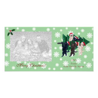Labrador Christmas Painting Photocards Photo Card Template