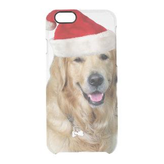 Labrador christmas-santa claus dog-santa dog-pet clear iPhone 6/6S case