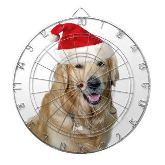 Labrador christmas-santa claus dog-santa dog-pet dartboard