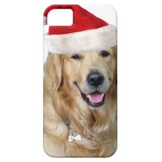 Labrador christmas-santa claus dog-santa dog-pet iPhone 5 cover