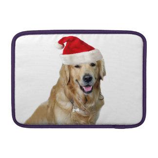 Labrador christmas-santa claus dog-santa dog-pet MacBook sleeve