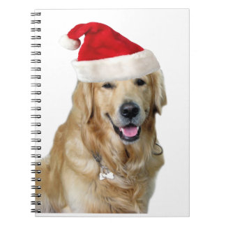 Labrador christmas-santa claus dog-santa dog-pet notebook