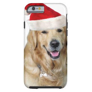 Labrador christmas-santa claus dog-santa dog-pet tough iPhone 6 case