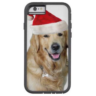 Labrador christmas-santa claus dog-santa dog-pet tough xtreme iPhone 6 case