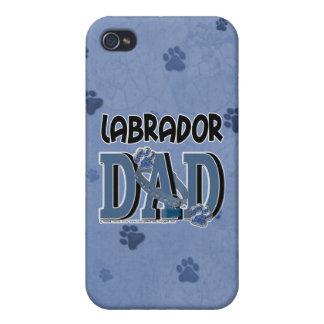 Labrador DAD iPhone 4 Cases