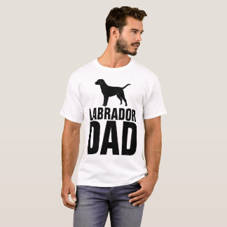 LABRADOR DOG DAD T-shirts