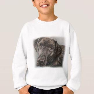Labrador Dog Drawing of Animal Art Sweatshirt