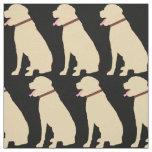 Labrador Dog Golden Pattern Fabric