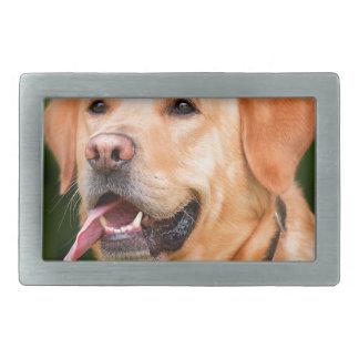Labrador Dog Rectangular Belt Buckles